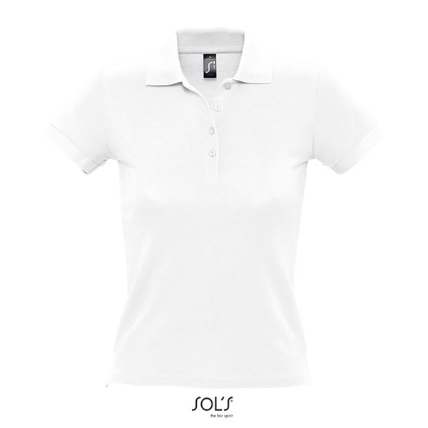 PEOPLE-női póló 210g - White / XXL