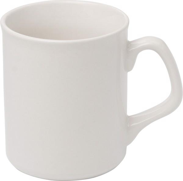 Becher 'Basic' aus Porzellan - White