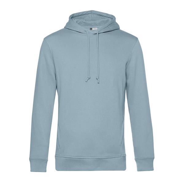 Organic Hooded - Blue Fog / XL