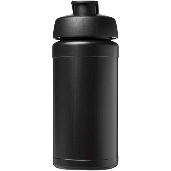 Sportovní láhev s vyklápěcím víčkem Baseline® Plus 500 ml - Černá