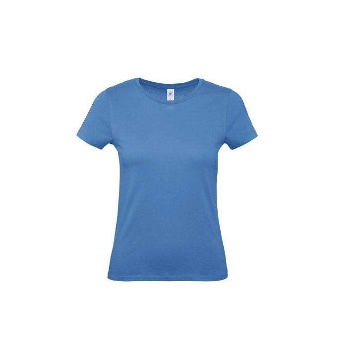 T-shirt female 145 g/m² #E150 /Women T-Shirt - Azure / XL