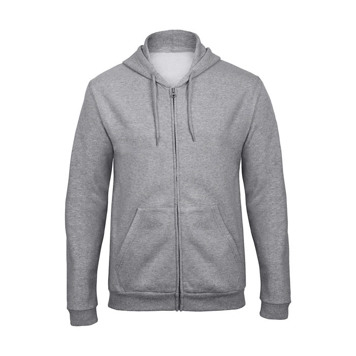 Hooded sweat men Hooded Full Zip Sweat Unisex - Grey Heather / XL
