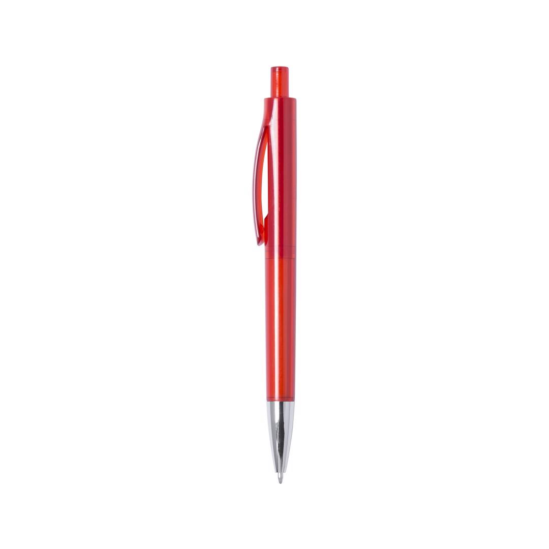 Bolígrafo Velny - Rojo