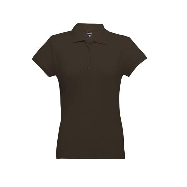 EVE. Γυναικεία πόλο μπλούζα - Σκούρο Καφέ / M