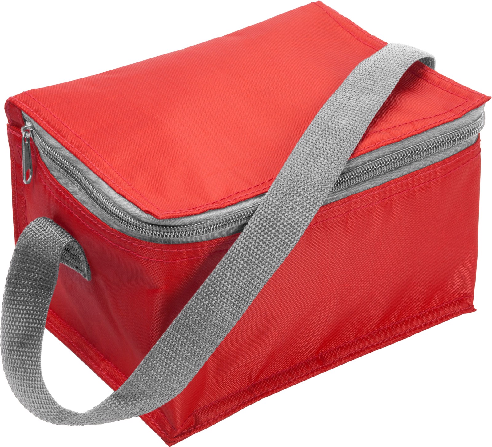 Polyester (420D) cooler bag - Red