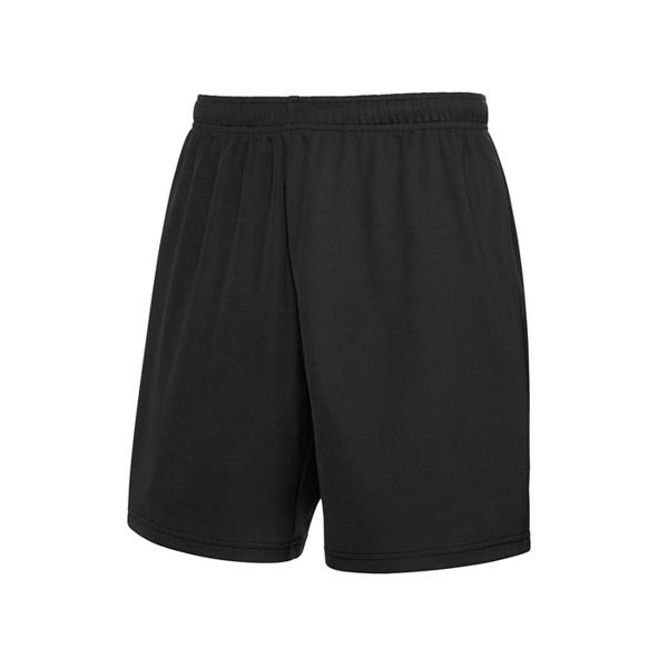 Unisex Spodnie sportowa Performance Short 64-042-0 - Czarny / Czarny opal / XL