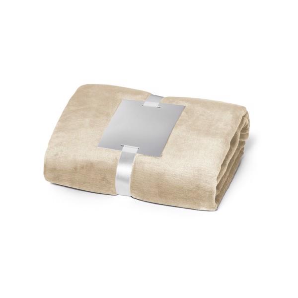 DYLEAF. Fleecová deka 240 g/m² - Béžová