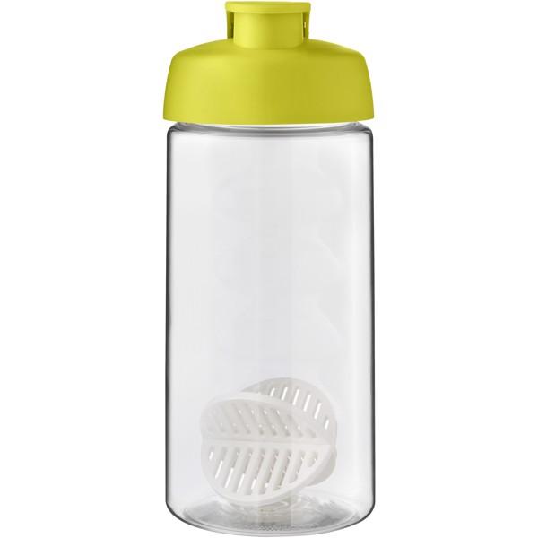 H2O Active Bop 500ml šejkrová lahev - Limetka / Průhledná