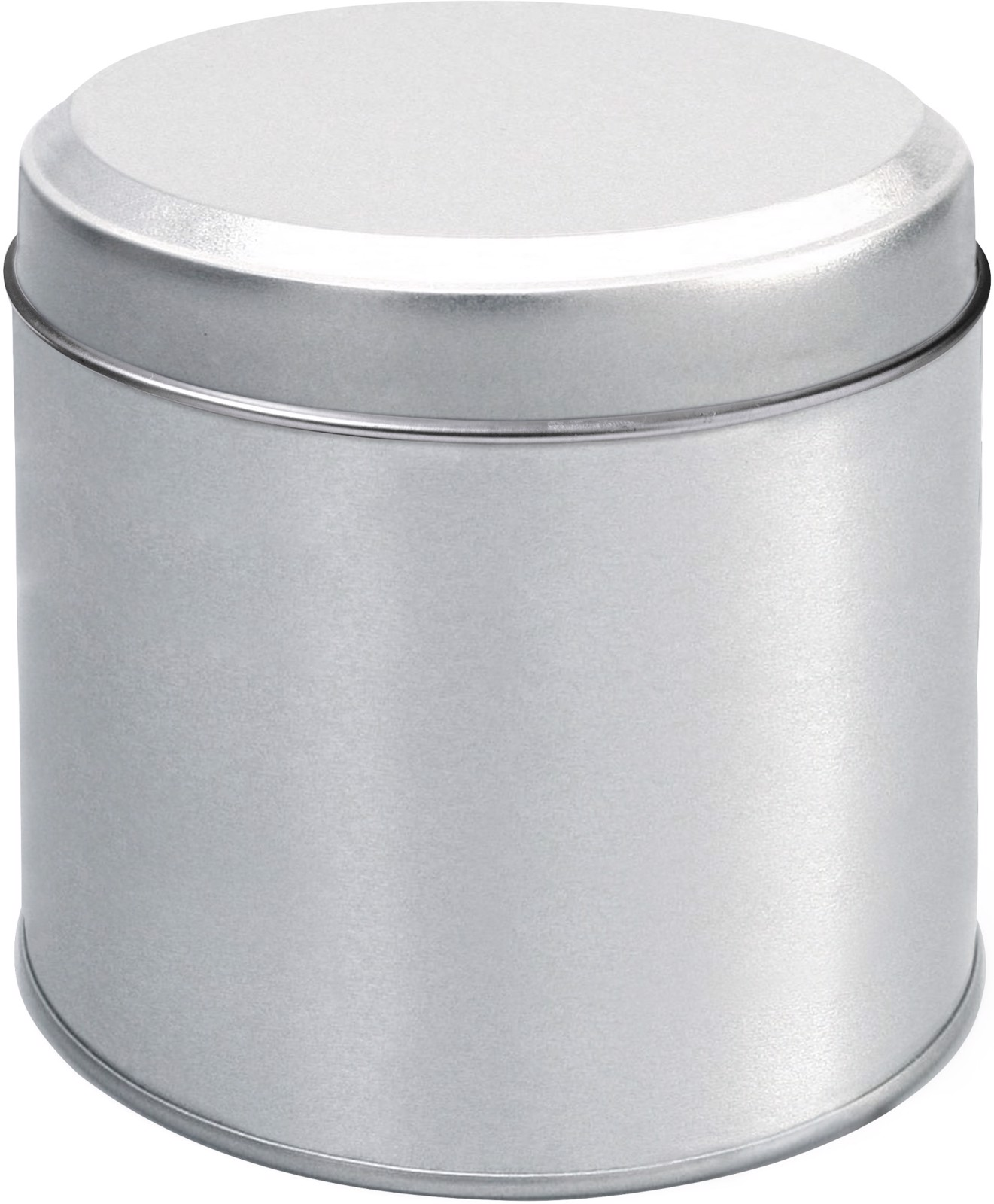 Tin for Dutch waffles - Silver