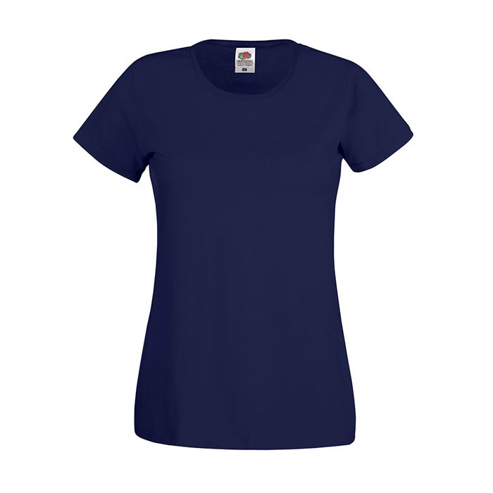 Lady-Fit T-shirt 145 g/m² Lady-Fit Original Tee 61-420-0 - Deep Navy / M