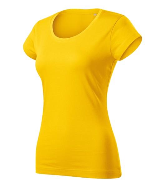 Tričko dámské Malfini Viper Free - Žlutá / M