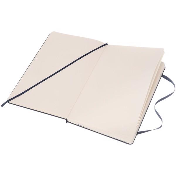 Classic L hard cover notebook - plain - Sapphire Blue