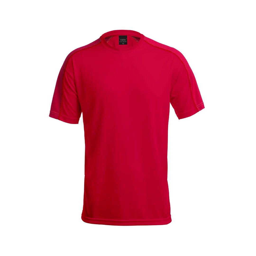 T-Shirt Criança Tecnic Dinamic - Vermelho / 6-8