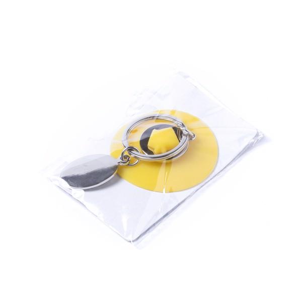 Porta-Chaves Moeda Halman - Amarelo