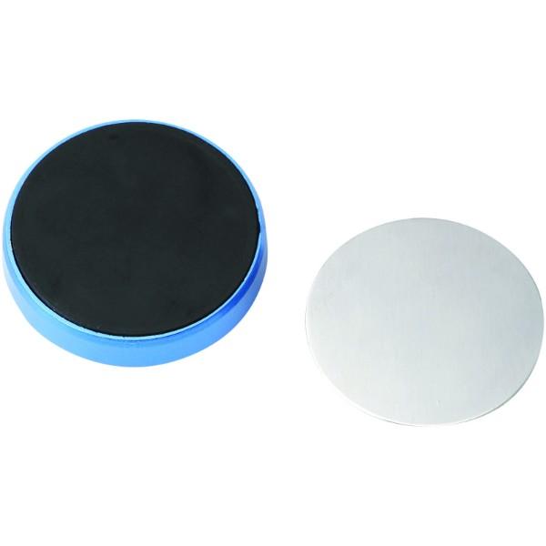 Magnetická přilnavá podložka pro telefon - Světle modrá