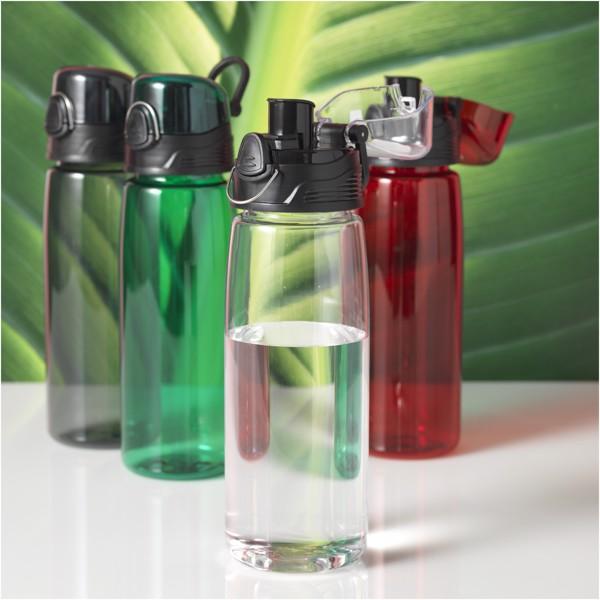 Capri 700 ml sport bottle - Transparent Red