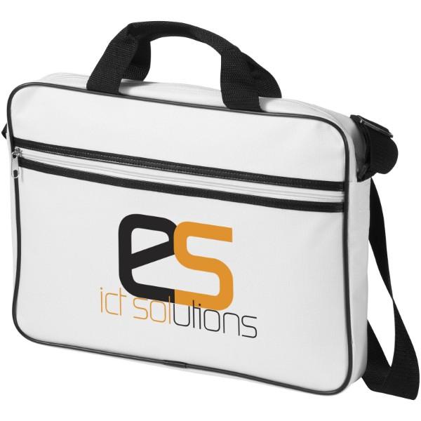 """Konferenční taška Knoxville na notebook 15,6"""" - Bílá / Černá"""