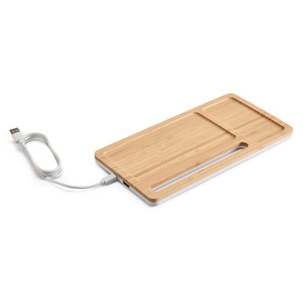 MOTT. Organizador de escritorio con cargador inalámbrico