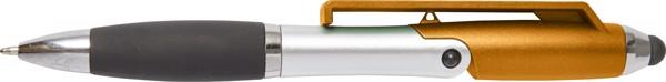 Kugelschreiber 'Mobile' aus Kunststoff - Orange