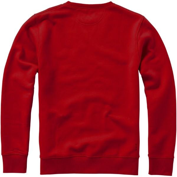 Surrey unisex svetr s kulatým výstřihem - Červená s efektem námrazy / XXL