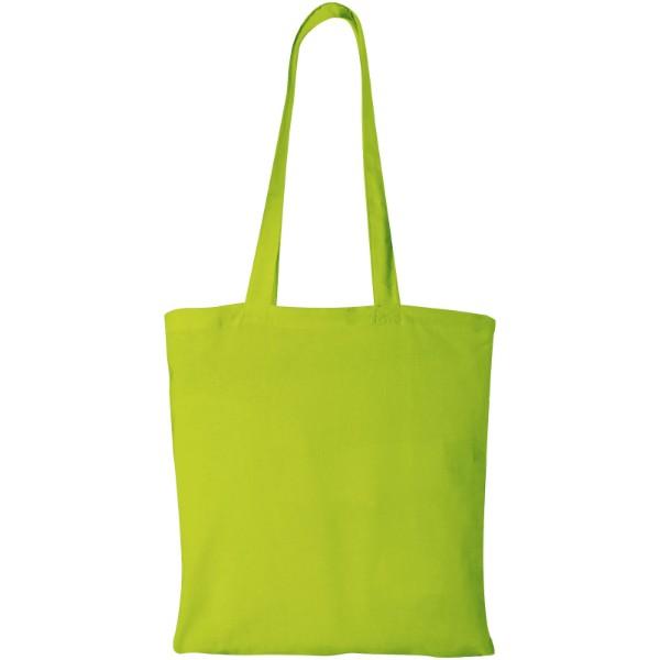 Peru 180 g/m² cotton tote bag - Lime