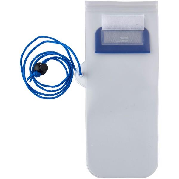 Mambo wasserdichter Smartphone Aufbewahrungsbeutel - Blau
