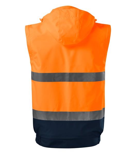 Jacket unisex Rimeck HV Guard 4 in 1 - Fluorescent Orange / M