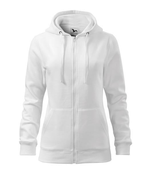 Mikina dámská Malfini Trendy Zipper - Bílá / XS