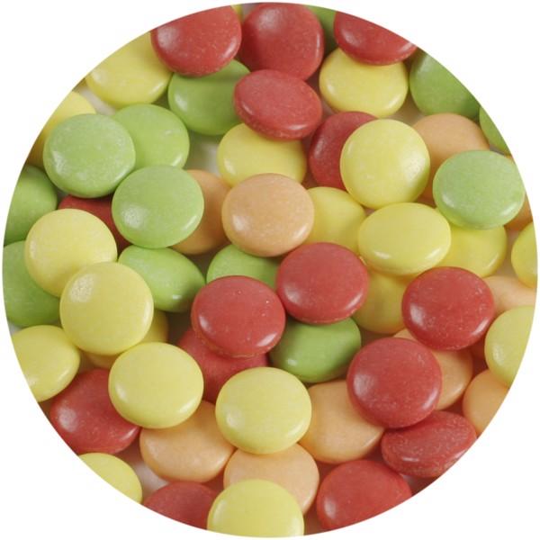 Clic clac tvrdé bonbony s ovocnou příchutí - Červená s efektem námrazy