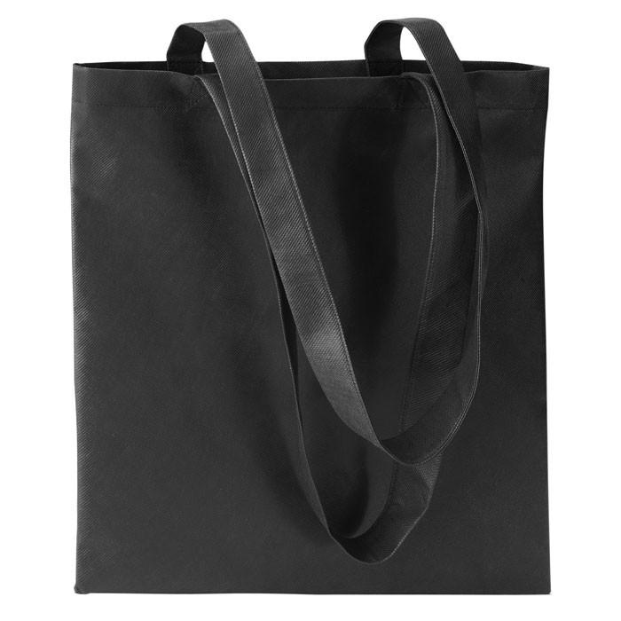 Bolsa de la compra non woven Totecolor - negro