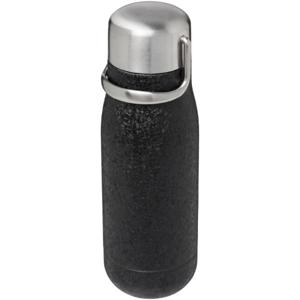 Yuki 350 ml copper vacuum insulated sport bottle - Solid black