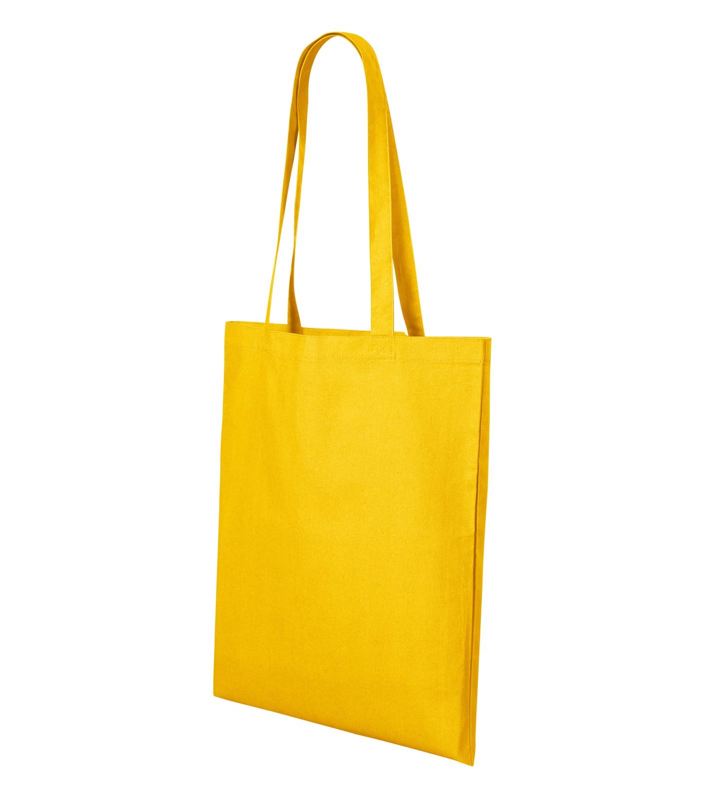 Nákupní taška unisex Malfini Shopper - Žlutá / uni