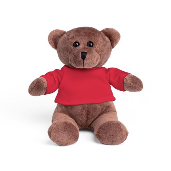 BEAR. Plush toy - Red