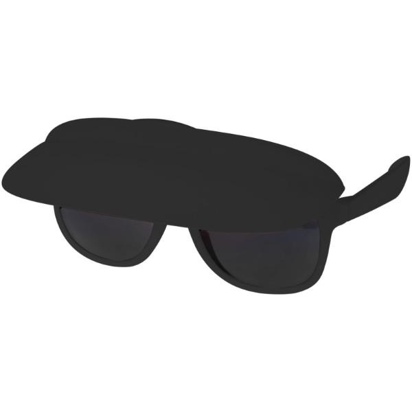 "Gafas de sol con visera ""Miami"" - Negro Intenso"
