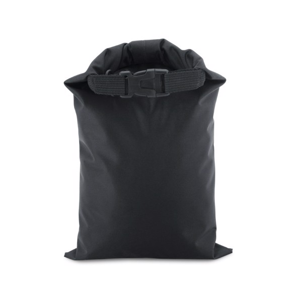 PURUS. Bolsa impermeable - Negro