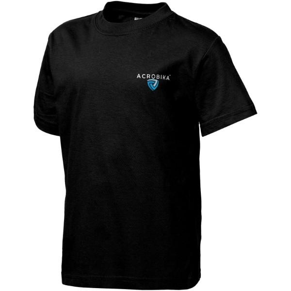 Dětské triko Ace s krátkým rukávem - Černá / 140