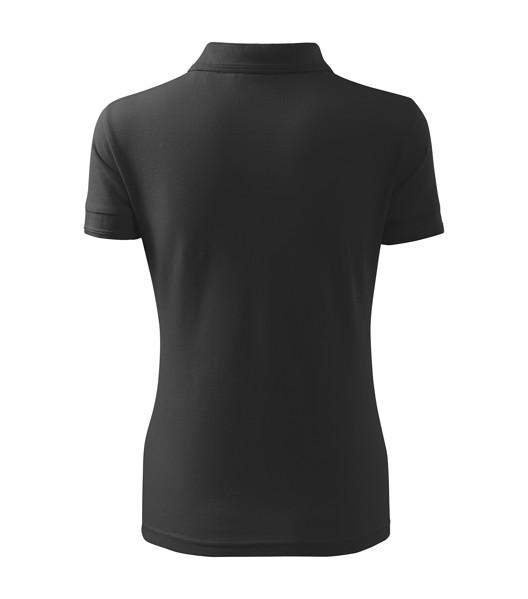 Polo Shirt women's Malfini Pique Polo - Anthracite Melange / S