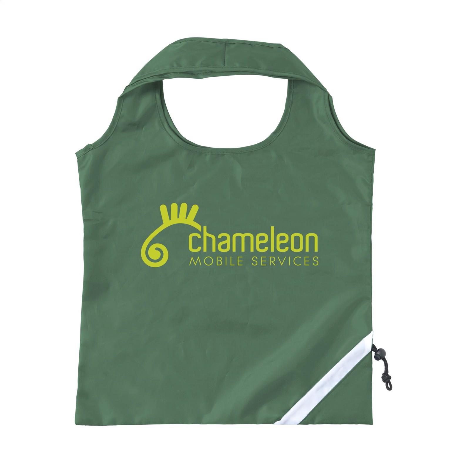 Strawberry foldable bag - Dark Green