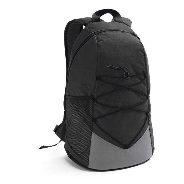 TURIM. Backpack in 600D - Black