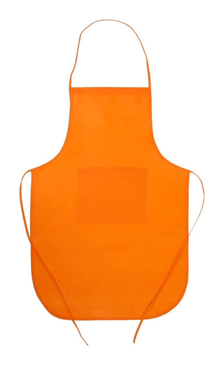 Kuchařská Zástěra Chef - Oranžová