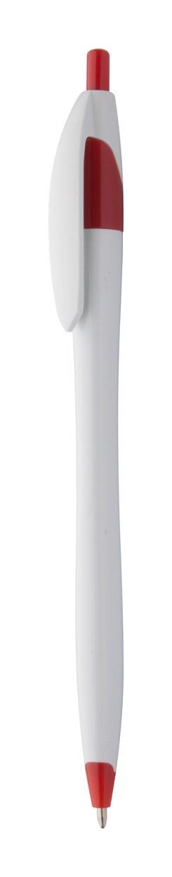 Kuličkové Pero Finball - Červená / Bílá