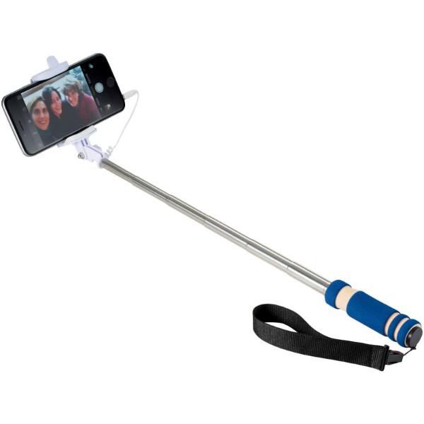 Mini Selfie držák s poutkem - Světle modrá