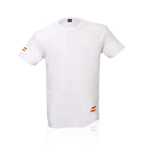 Camiseta Adulto Tecnic Bandera - Blanco / XL