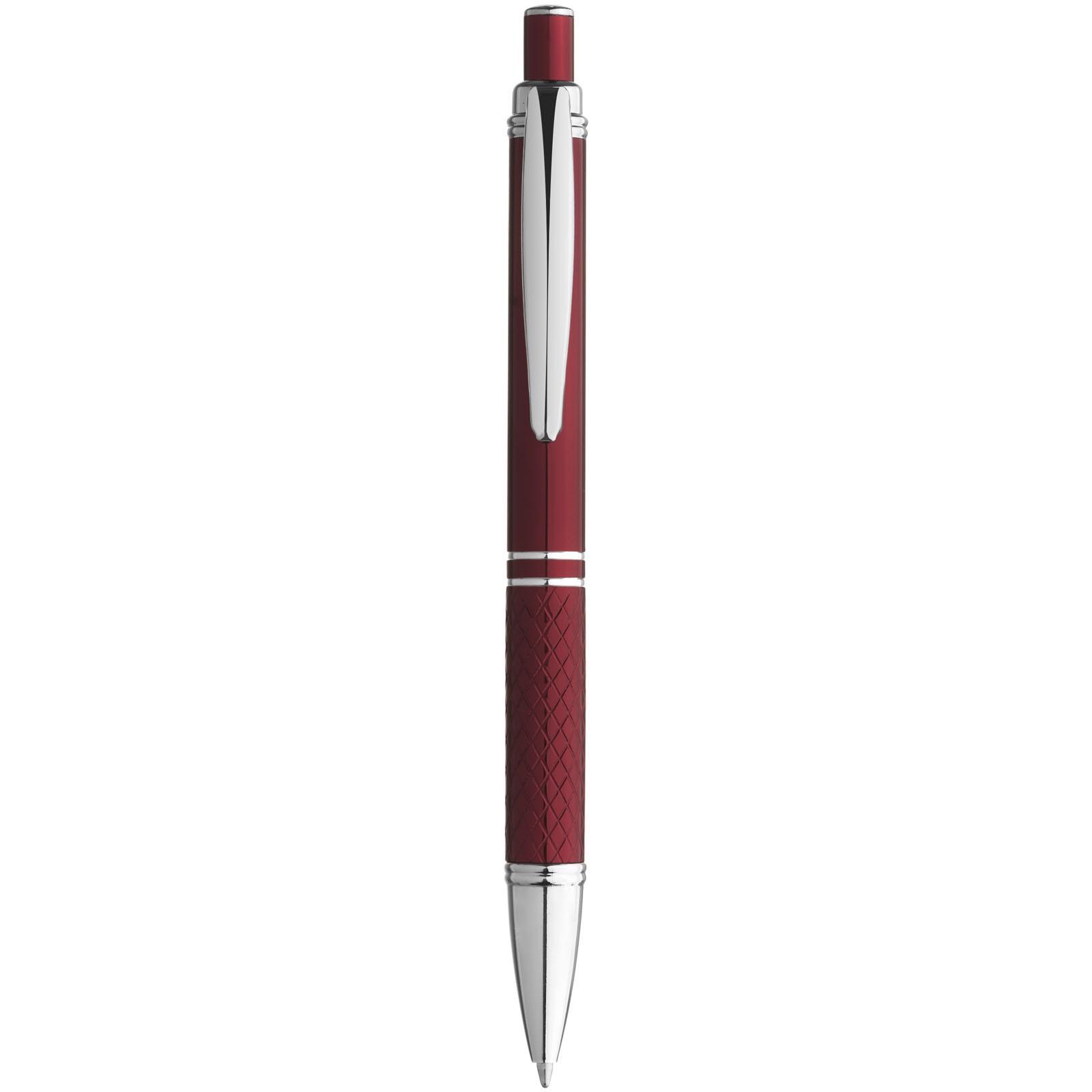 Kuličkové pero Jewel - Červená s efektem námrazy