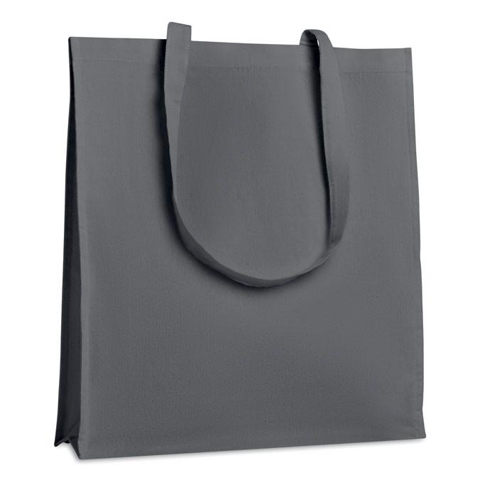 Pamut bevásárlótáska, 160 g. Trollhattan - szürke