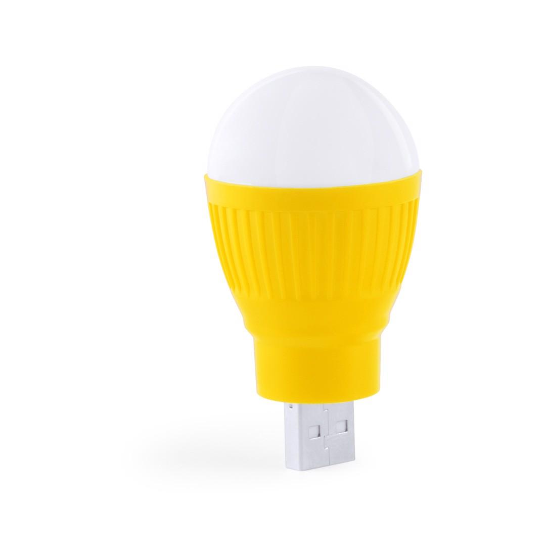 Lámpara USB Kinser - Amarillo