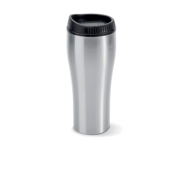 Stainless steel travel cup Botocol - Matt Silver