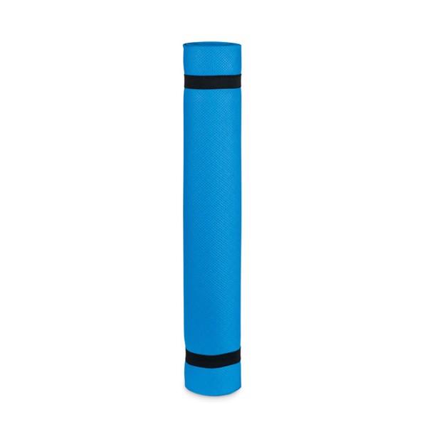 Yoga mat EVA 4,0 mm with pouch Yogi - Blue