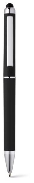 ESLA. Ball pen with metal clip - Black