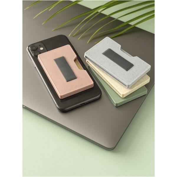 Grass RFID multi card holder - Mint